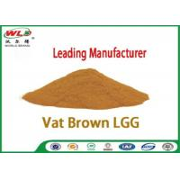 Quality Professional Synthetic Dyes Vat Brown Lgg Natural Textile Dyes Eco Friendly for sale