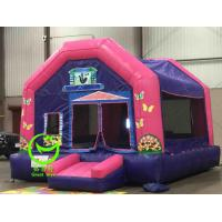 Quality 2016 hot sell  inflatable bouncer castle  with 24months warranty GT-BC-1839 for sale
