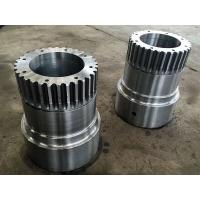 Quality AISI 1045 AISI 4140 AISI 4340 42CrMo4 Forged Forging Steel Gear Pistion Coupling for sale