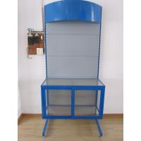 China Metal and Acrylic display shelving for supermarket use on sale