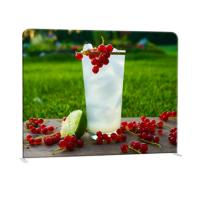 Quality Straight Curved Trade Show Backdrop Displays U Shape Pop Up Stand Easy Operation for sale
