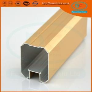 Quality 2017 Glossy brush aluminum window profile, Matt aluminum window section, window profile for sale
