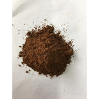 Quality Dark Brown Natural Cocoa Powder / Alkalized Cocoa Powder PH Value 6.2-7.6 for sale