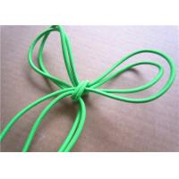 Quality Garment Green Cotton Braiding Cord Colored Waxed Hard Laid Cotton Cord for sale