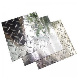 Quality 3003 H24 Aluminium Diamond Plate Aluminum Checker Plate  4ft * 8ft High Performance for sale