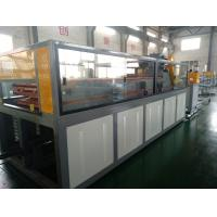 Quality High Output PVC Profile Extrusion Machine For PVC Photo Frame , Door Frame , Window Frame Plastic Extrusion Lines for sale