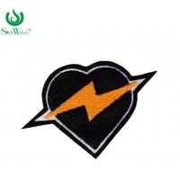 Quality Professional Soft  Custom Chenille Patches For Varsity Jackets Felt Fabric Type for sale
