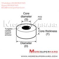 Quality Tungsten Carbide Supported Diamond Die Blanks Alisa@moresuperhard.com for sale