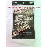 Quality Printed Transparent Self Adhesive Plastic Bags For Books / Toys / Gift for sale