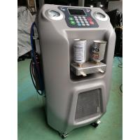 """Quality Can Refill R134a Auto AC Refrigerant Recovery Machine With 5"""" LCD Color Display for sale"""
