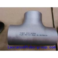 Quality High precision Stainless Steel 3 way Tee 316ti 317l 347h DIN EN for sale