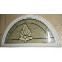 Quality decorative  glass panel with PP material  frame for sale