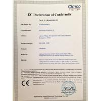 Xincheng Inflatables ltd Certifications