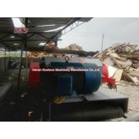 Heavy Industrial Log Drum Chipper Machine Ease Maintenance Energy Saving for sale