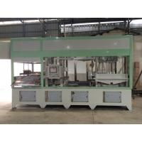 Quality Fully Automatic Paper Pulp Moulding Machine High Precision With Hot Pressing System for sale