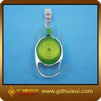 Quality green color retractable badge reel for sale