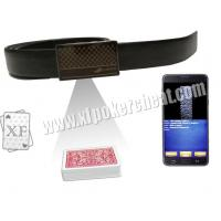 China Brown Leather Belt Infrared Camera Playing Card Device With 40 - 70cm 65 - 100cm Distance on sale