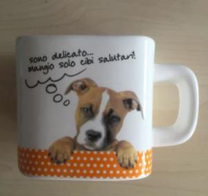China Tea Mug White Porcelain Unique Promotional Gifts Colorful Cool Square White And Dog Mug on sale