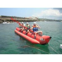 Quality inflatable water games flyfish banana boat for sale