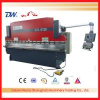 Quality WC67K cnc hydraulic press brake for sale