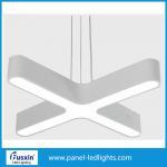 Quality Super Bright Aluminum Interior Pendant Led Office Light With Led Tube Inside for sale