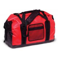 Quality 65L Red Tarpaulin Waterproof Duffel Bag 1.3KG Weight For Cycling And Hiking for sale
