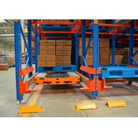 China Moveable Heavy Duty Pallet Racks Automatic Radio Shuttle Runner Car Racking on sale