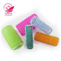 Quality Beatiful Style Girls Hook And Loop Hair Rollers / Hair-Curler , Eco-Friendly for sale