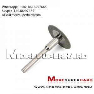 Quality Diamond rotary cutting disc, mini discs Alisa@moresuperhard.com for sale