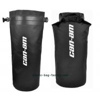 Quality Black Rafting Waterproof Dry Bags D31 X H50cm Size With Silk Screen Printing for sale