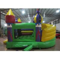 Quality Simple Garden Bouncy Castle Double Stitching  , Digital Printing Infant Bounce House for sale