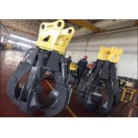Quality 360° Rotation Excavator Rotating Grapple1950mm Max Jaw Opening Fit  PC200 PC210 PC220 for sale