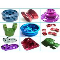 Quality High Precision Aluminum Machined Parts For Hardware Machinery Various Color for sale