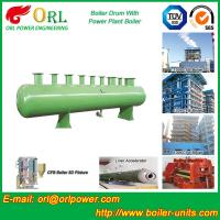 Quality Diesel Water Heat Boiler Steam Drum Thermal Insulation SGS Certification for sale