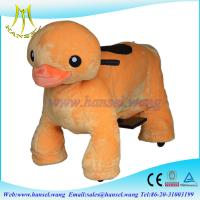 Quality Hansel best selling coin operated plush walking animal toys for kids for sale