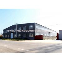 Single Storey Steel Structure Warehouse Multifunctional Modular Design for sale