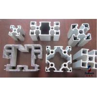 Quality Precise Cutting Custom Aluminum Profile , Machined Aluminium Profiles For Display Cabinets for sale