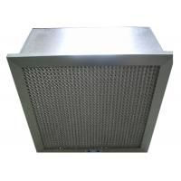 Quality Disposable Hospital Hepa Room Air Filters , Pharmacy Deep Pleat Hepa Filter for sale