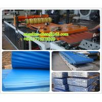 Quality UPVC corrugated type and rib type roof tile/roof sheet making machine production line for sale