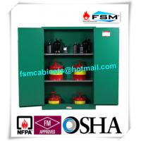 Quality Fireproof 45 Gallon Hazardous Storage Cabinets Adjustable Shelf For Storing Dangerous Goods for sale