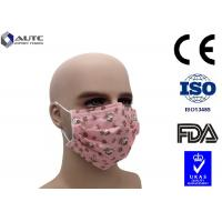 Quality Non Woven Cute Disposable Medical Mask With Funny Faces Printed 3 Ply for sale