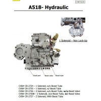 Quality Auto Transmission A518 - Hydraulic sdenoid valve body good quality used original parts for sale