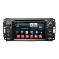 Quality Chrysler Aspen Sebring Cirrus 300C Car GPS Navigation System Android DVD Play Canbus for sale