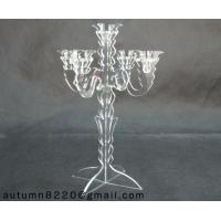Quality CH (8) acrylic candlestick holder for sale