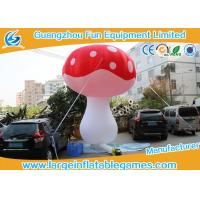 Quality Oxford Cloth Inflatable Mushroom Decoration Cartoon Characters For Event for sale