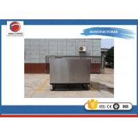 Quality Customized Cold Rectangular Stainless Steel Tanks , Beverage Manufacturing Equipment for sale