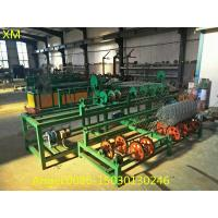 Buy 3m width Singel wire feeding Fully Automatic Chain Link Fence  Machine at wholesale prices