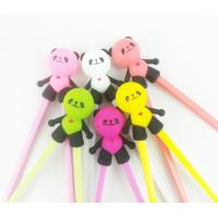 Buy cheap Wholesale Custom Reusable Kids Children Silicone Training Chopsticks from wholesalers