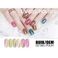 Quality Dourless Cat Eye Gel Nail Polish OEM Nail Art Varnish Resin / Pigment Material for sale