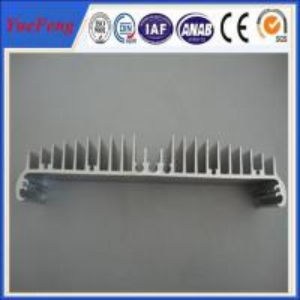 Quality Aluminum LED Heatsink Profiles For Electronics/ extruded aluminum led tube heatsink for sale